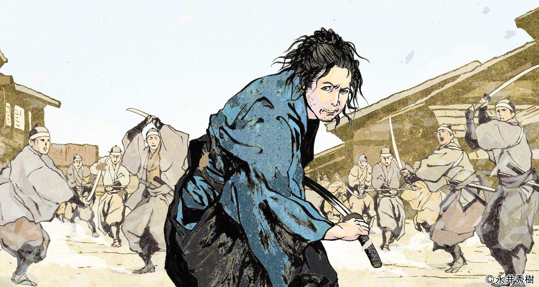 イラストレーター永井秀樹氏に描いて頂きました。